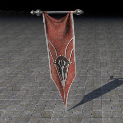 Greymoor Keep Banner, Hanging
