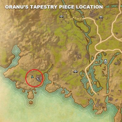 Oranu's Tapestry Piece Location