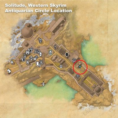 Solitude - Antiquarian Circle Location