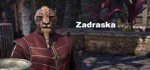 Zadraska