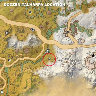 Dozzen Talharpa Location