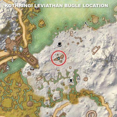 Kothringi Leviathan Bugle Location