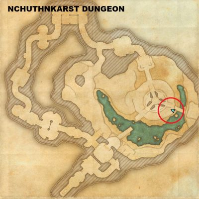 Nchuthnkarst - Lute of Blue Longing Location