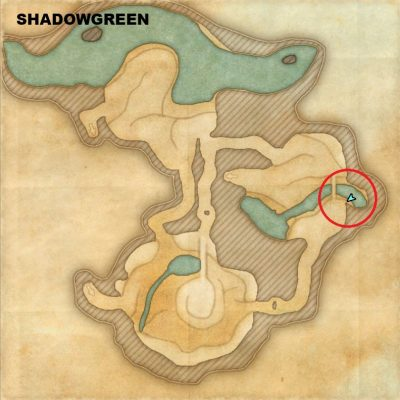 Shadowgreen - Tenderclaw Location