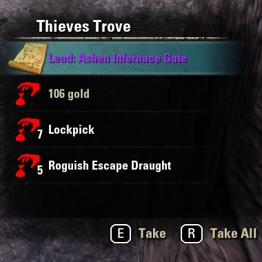 Thieves Trove Lead