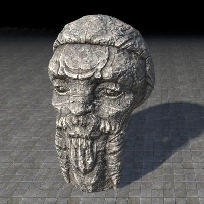Ancient Nord Monolith, Head