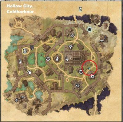 Map to Zenil Theran
