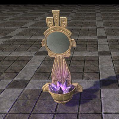 Dwarven Crystal Sconce, Mirror