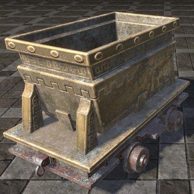 Dwarven Minecart, Ornate