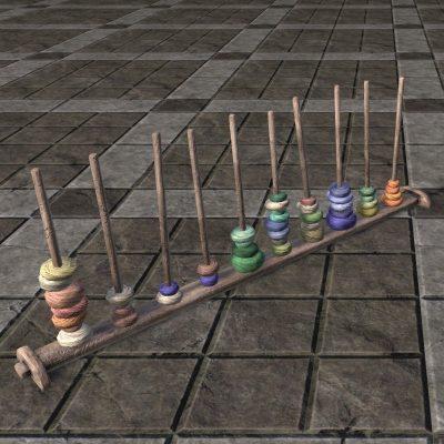 Solitude Yarn Rack, Colorful