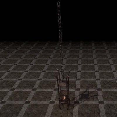 Deadlands Chandelier, Caged