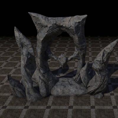 Inert Oblivion Gate
