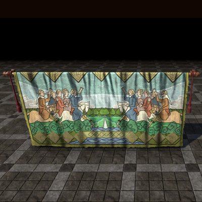 Leyawiin Tapestry, Hunting Pack