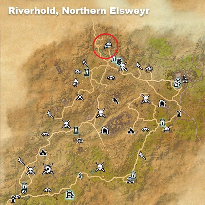 Eso Elsweyr Map